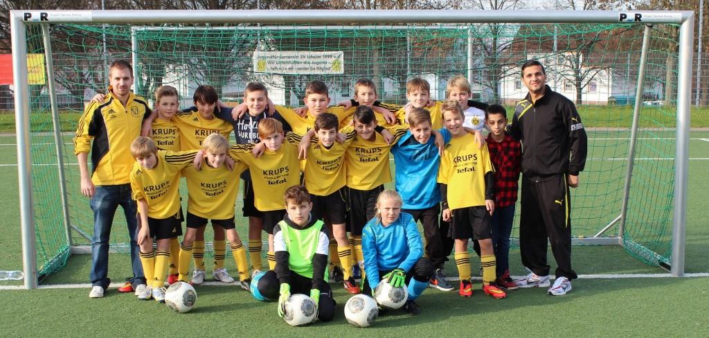 D-Jugend letzte Vorrundenspiel
