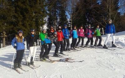 Skifreizeit der Jugendspielerinnen