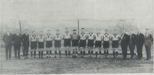 Die 1. Mannschaft 1927/28