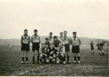 Die 1b Mannschaft 1964