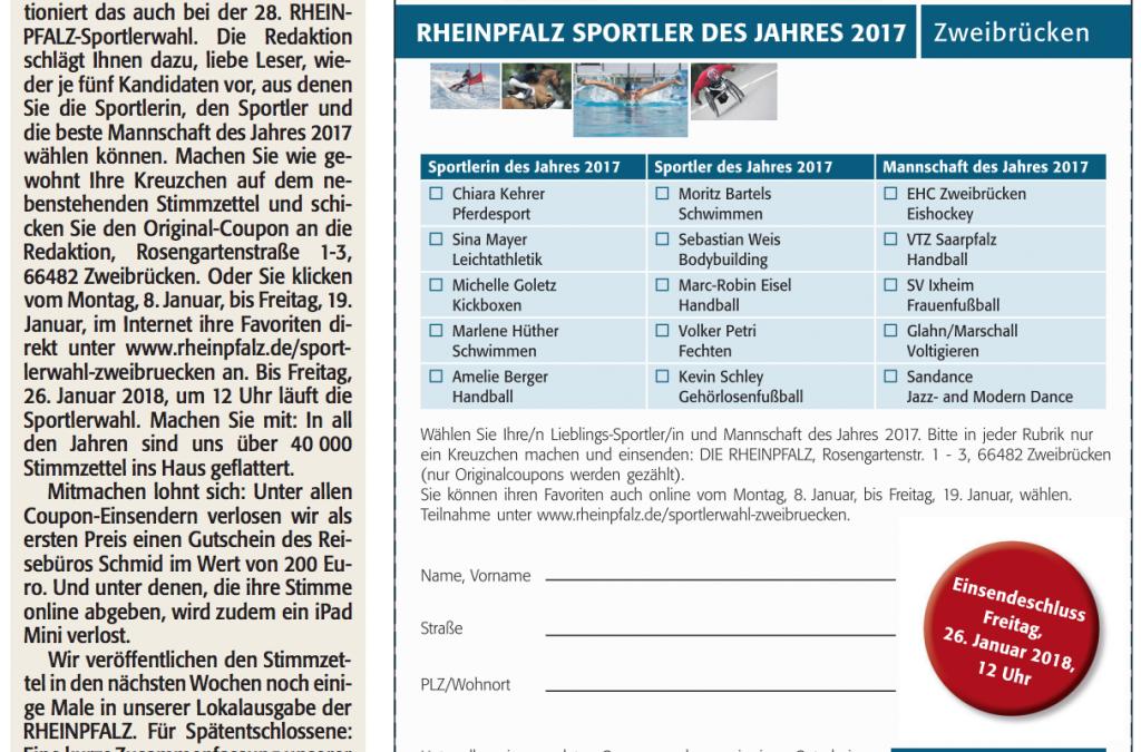 Rheinpfalz Sportlerwahl – Voting
